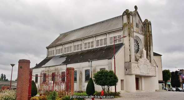 Eglise Sainte-Thérèse-de-l'Enfant-Jésus à Hirson.