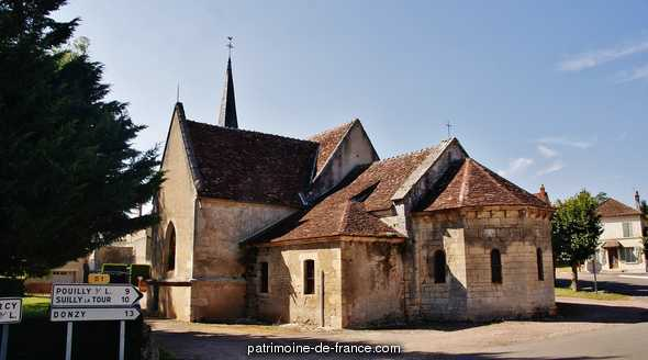 Eglise Saint Martin à Garchy.