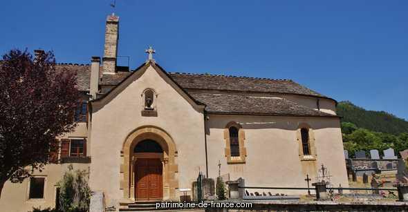 église paroissiale Saint-Bauzile à St bauzile.
