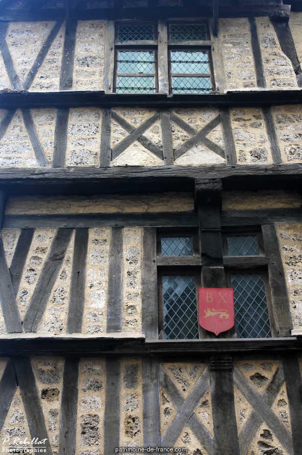 Maison 1 rue des Cuisiniers rue Saint-Martin à Bayeux.