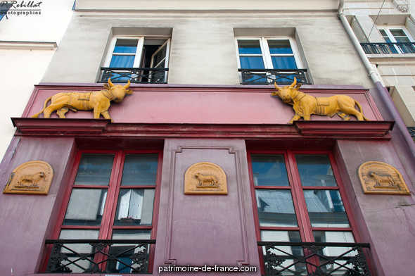 Butcher (former), French Heritage monument to Paris 5eme arrondissement.