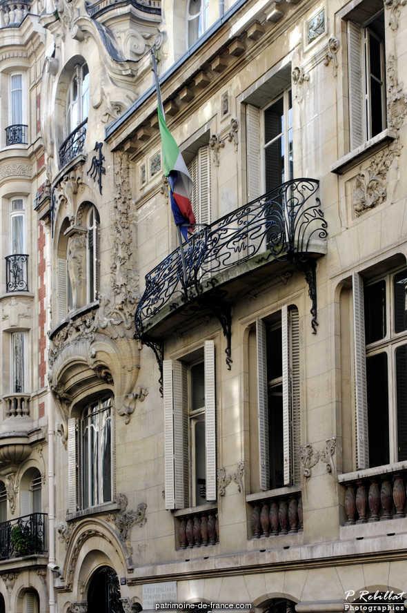 Immeuble 18 rue s dillot paris 7eme arrondissement paris - Chambre d hote paris 7eme arrondissement ...