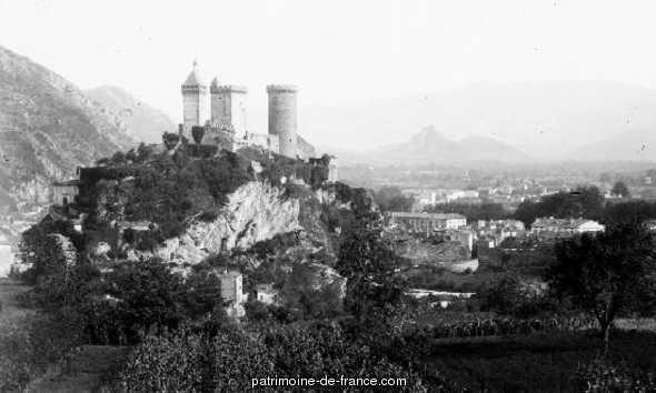 Château à Foix.