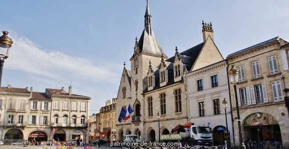 City Hall, French Heritage monument to Libourne.