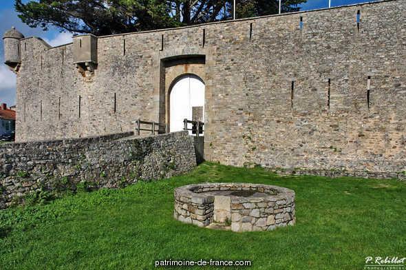 Ancien château à Noirmoutier en l ile.