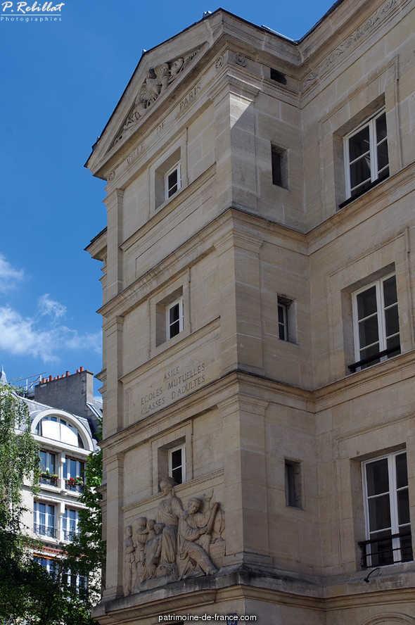 Lycée de la Photographie à Paris 6eme arrondissement.