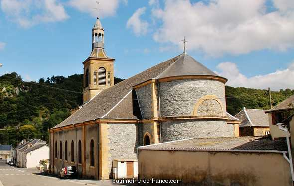 Church Sainte-Anne to Joigny sur meuse.