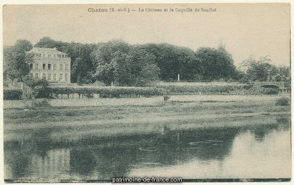 Residence, French Heritage monument to Chatou.