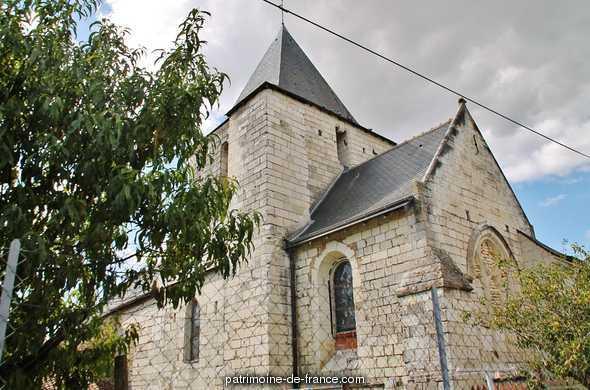 Eglise paroissiale Saint-Hilaire à Verneuil le chateau.