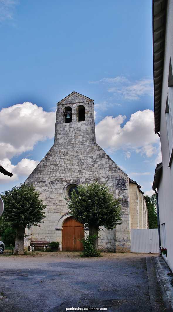 Eglise paroissiale Saint-Jean de Noyers à Nouatre.