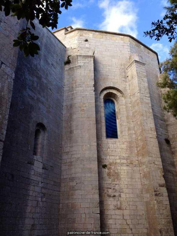 Cathédrale Saint-Pierre de Maguelonne (ancienne) à Villeneuve les maguelone.