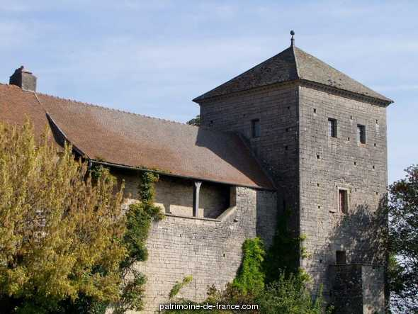 Castle of  Gevrey chambertin.