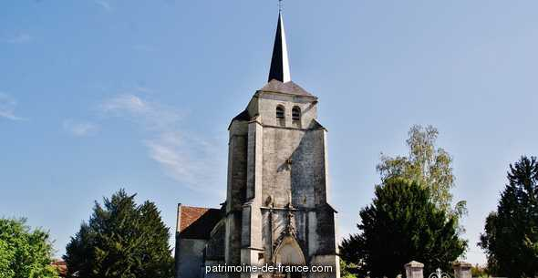 Eglise à Vielmanay.