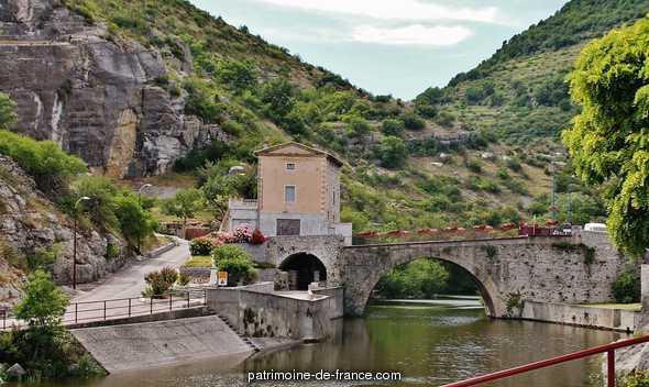 Pont romain à Le pouzin.