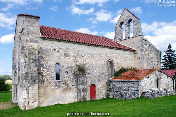 Ancienne église Saint-André de Taxat à Taxat senat.