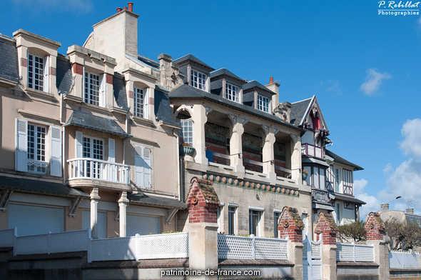 Maison Louis, dite Castel Louis à Lion sur mer.