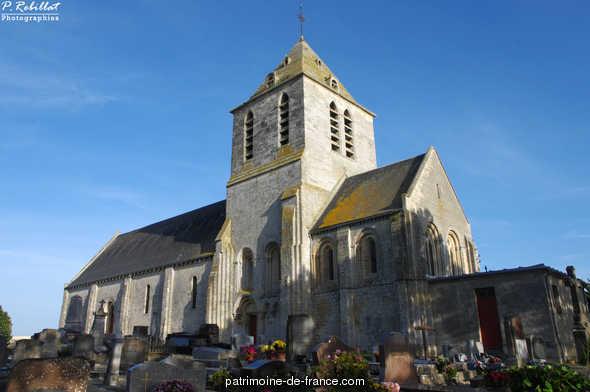 Eglise Saint-Hilaire à Cairon.