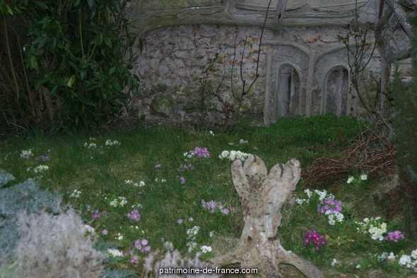 Jardin d'agrément dit maison Rustica