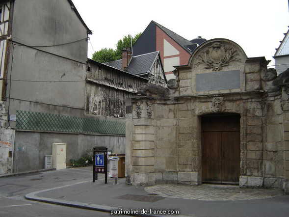 Former convent of the Penitents, French Heritage monument to Rouen.