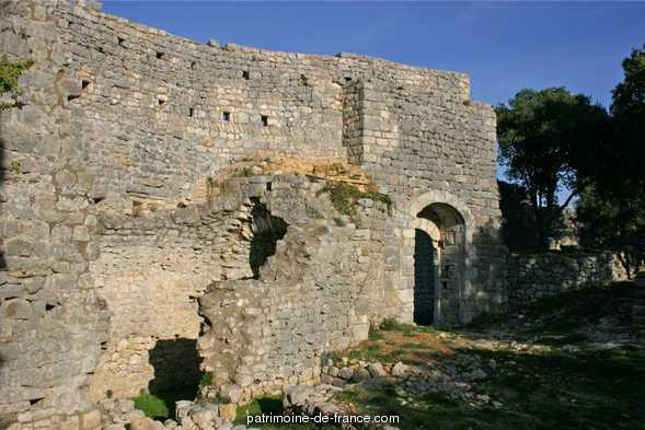 Ruins of the Castle, French Heritage monument to Allegre.