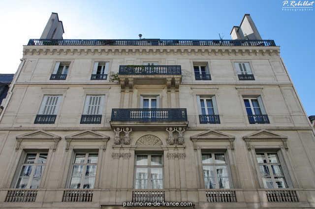 Building, French Heritage monument to Paris 6eme arrondissement 73