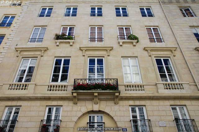 Building, French Heritage monument to Paris 6eme arrondissement 82