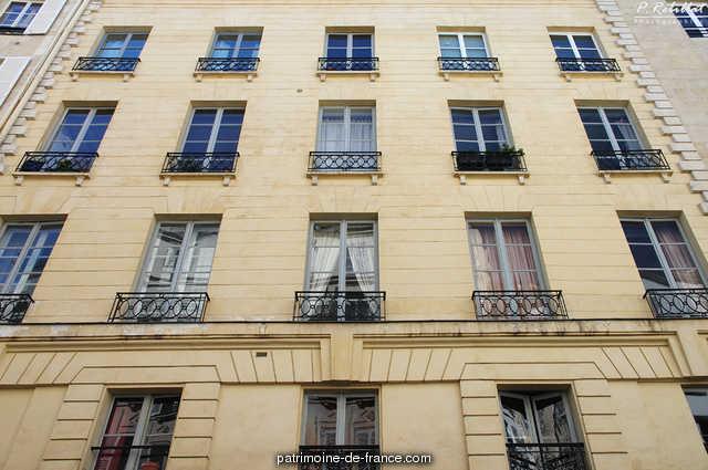 Building, French Heritage monument to Paris 6eme arrondissement 81