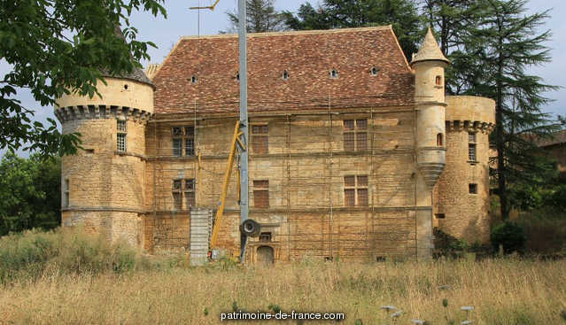 Sirey Castle, French Heritage monument to Prats de carlux 1