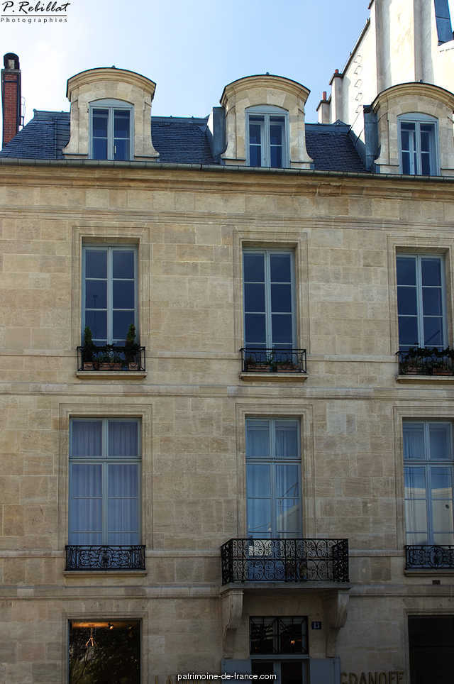 Hotel Sillery-Genlis, French Heritage monument to Paris 6eme arrondissement 46