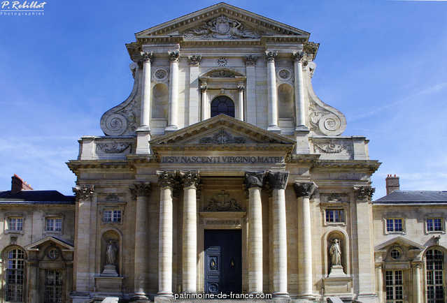 Abbey of Val-de-Gr�ce (former), French Heritage monument to Paris 5eme arrondissement 1