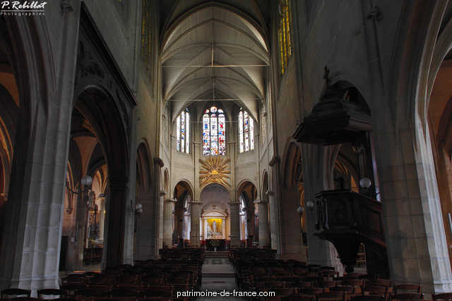 Church Saint-M�dard, French Heritage monument to Paris 5eme arrondissement 32