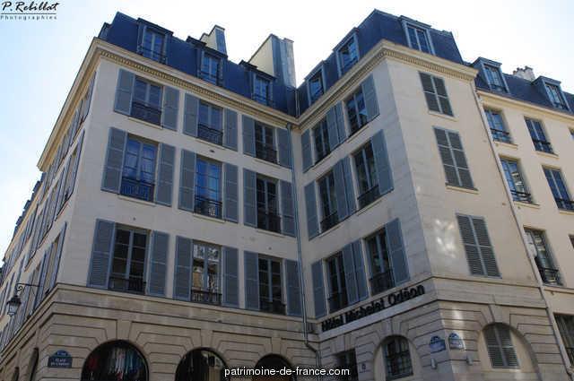 Building, French Heritage monument to Paris 6eme arrondissement 92