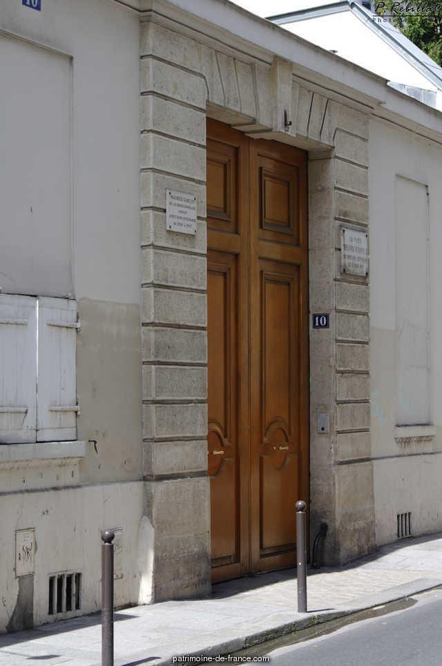 Building, French Heritage monument to Paris 6eme arrondissement 70