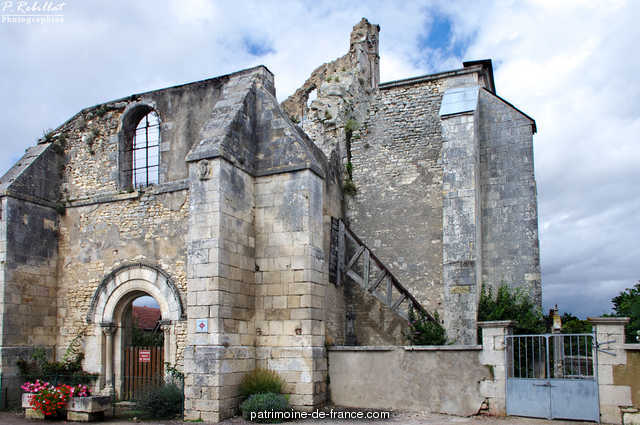 Old Abbey, French Heritage monument to St laurent 1