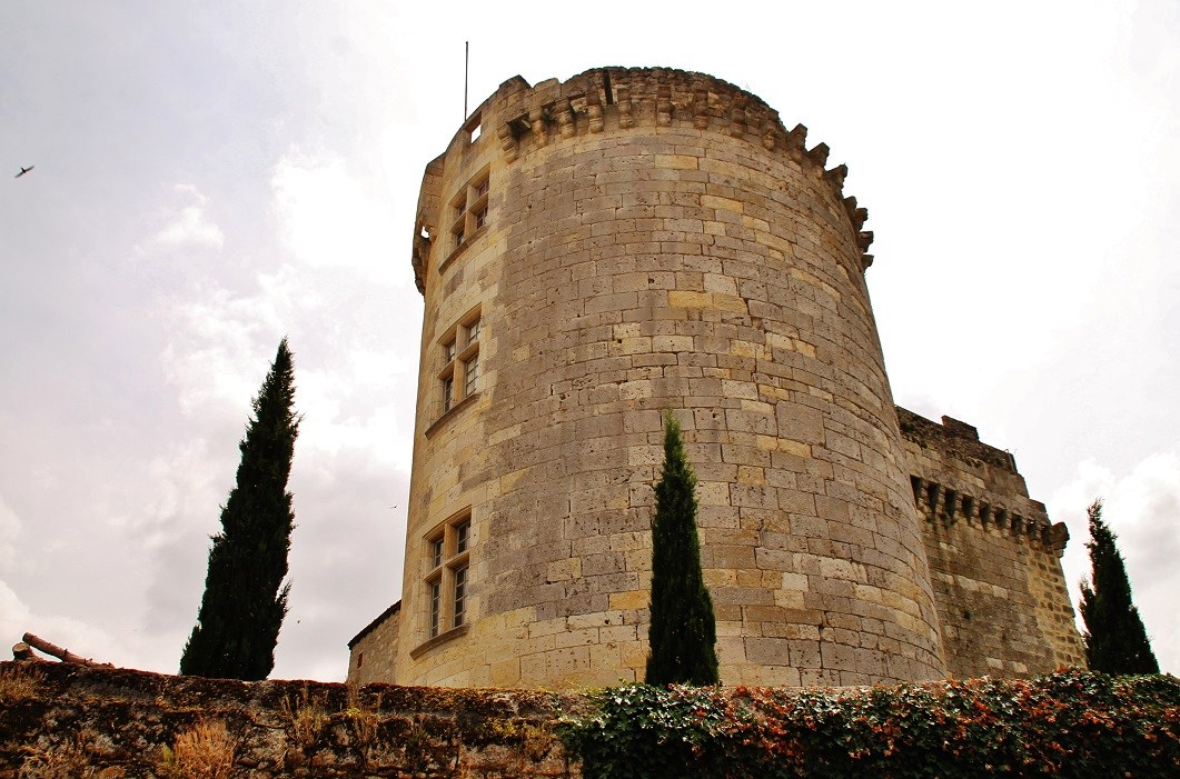 Château à Flamarens.