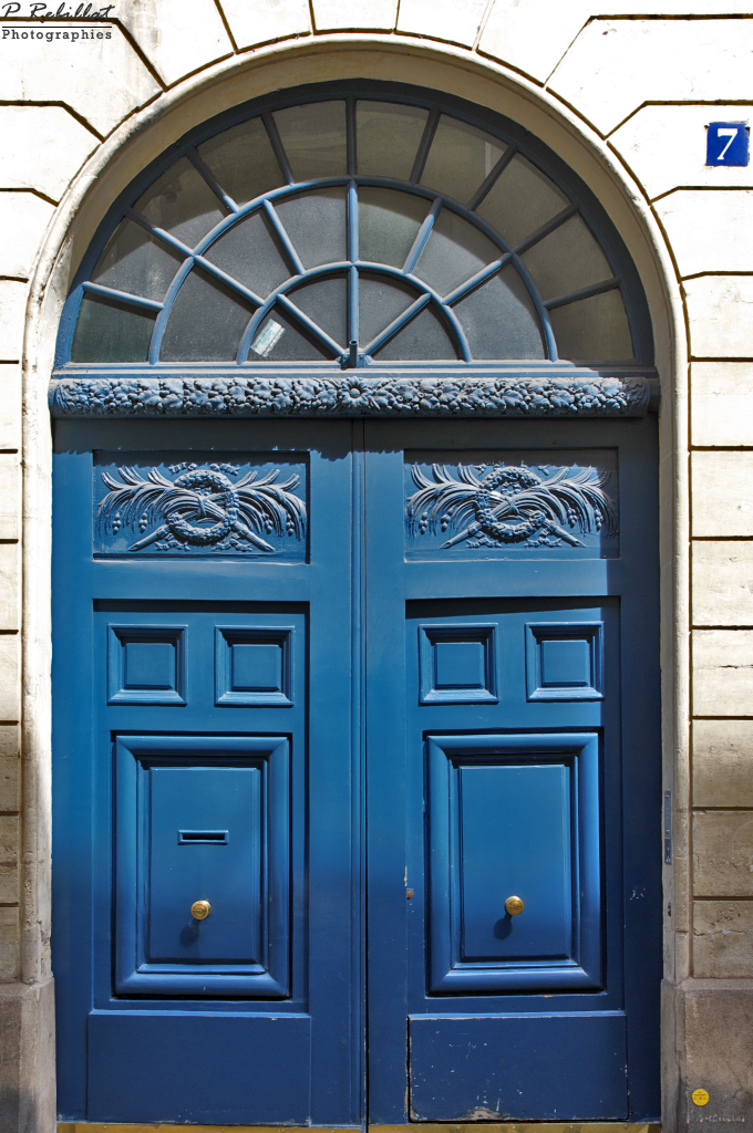 La rue Mazarine à Paris 6eme arrondissement.