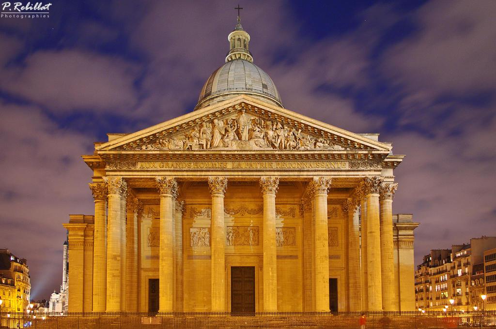 Ancienne église Sainte-Geneviève, devenue Le Panthéon par Pascal-Jean Rebillat Photographies