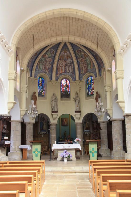 St. Michael's Parish Church, French Heritage monument to Ile aux moines.