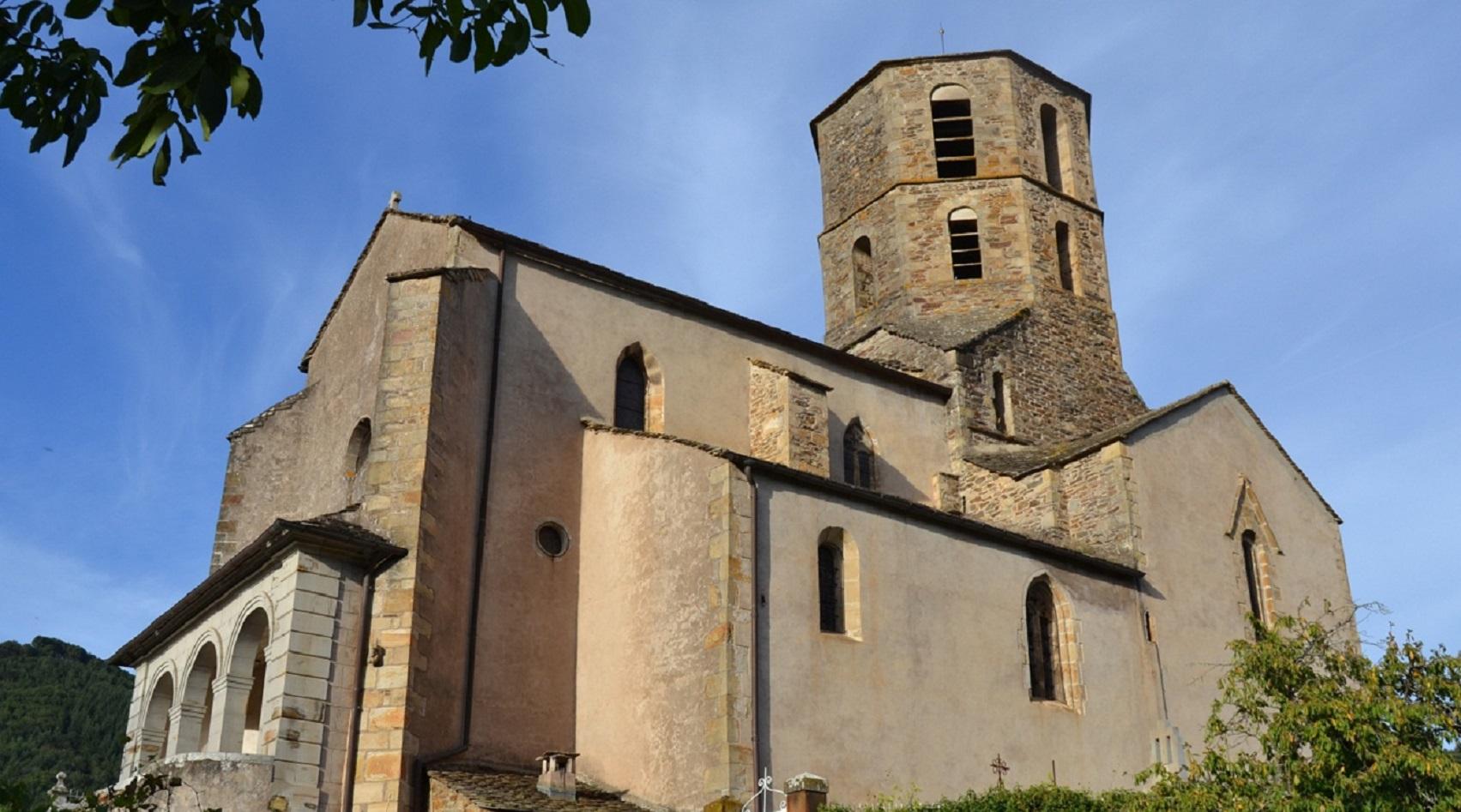 Eglise St-Martin de Plaisance à Plaisance.