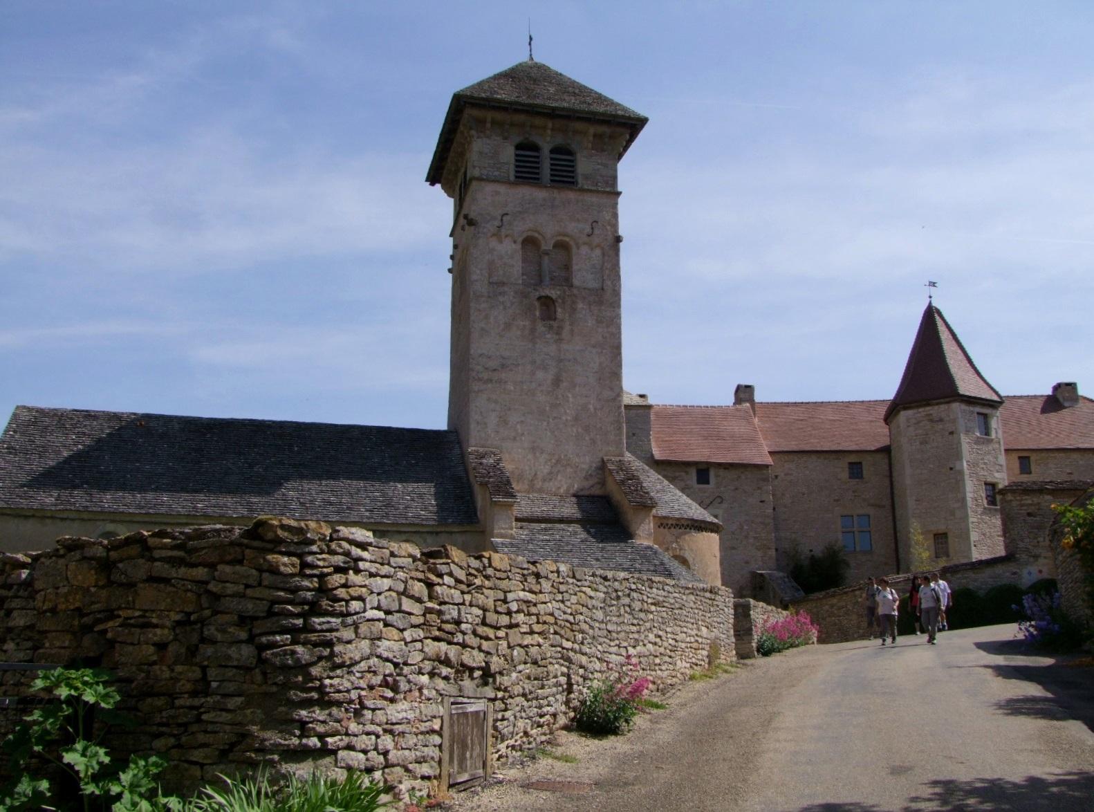 Prieuré (ancien) à Blanot.