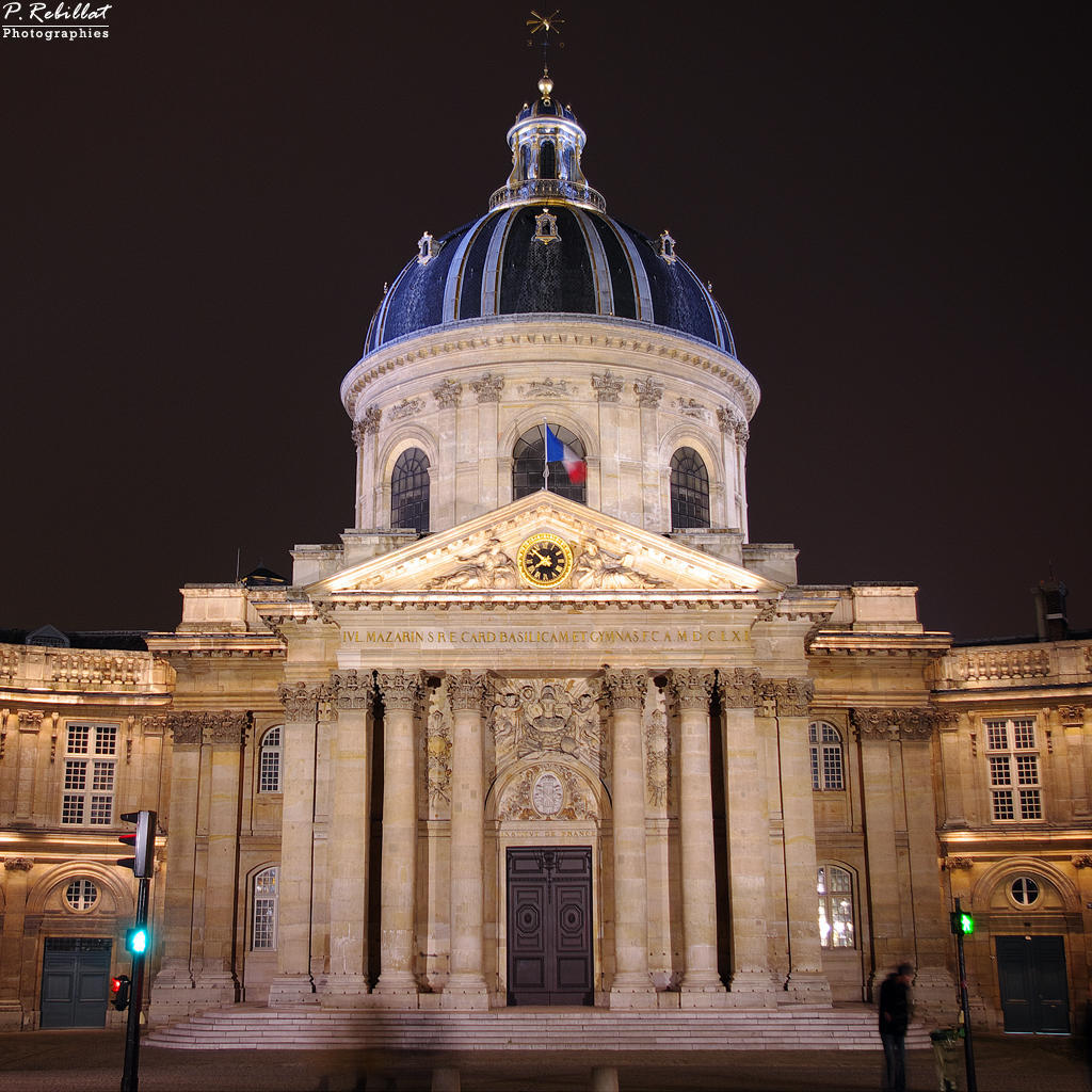 Institut de France à Paris 6eme arrondissement.