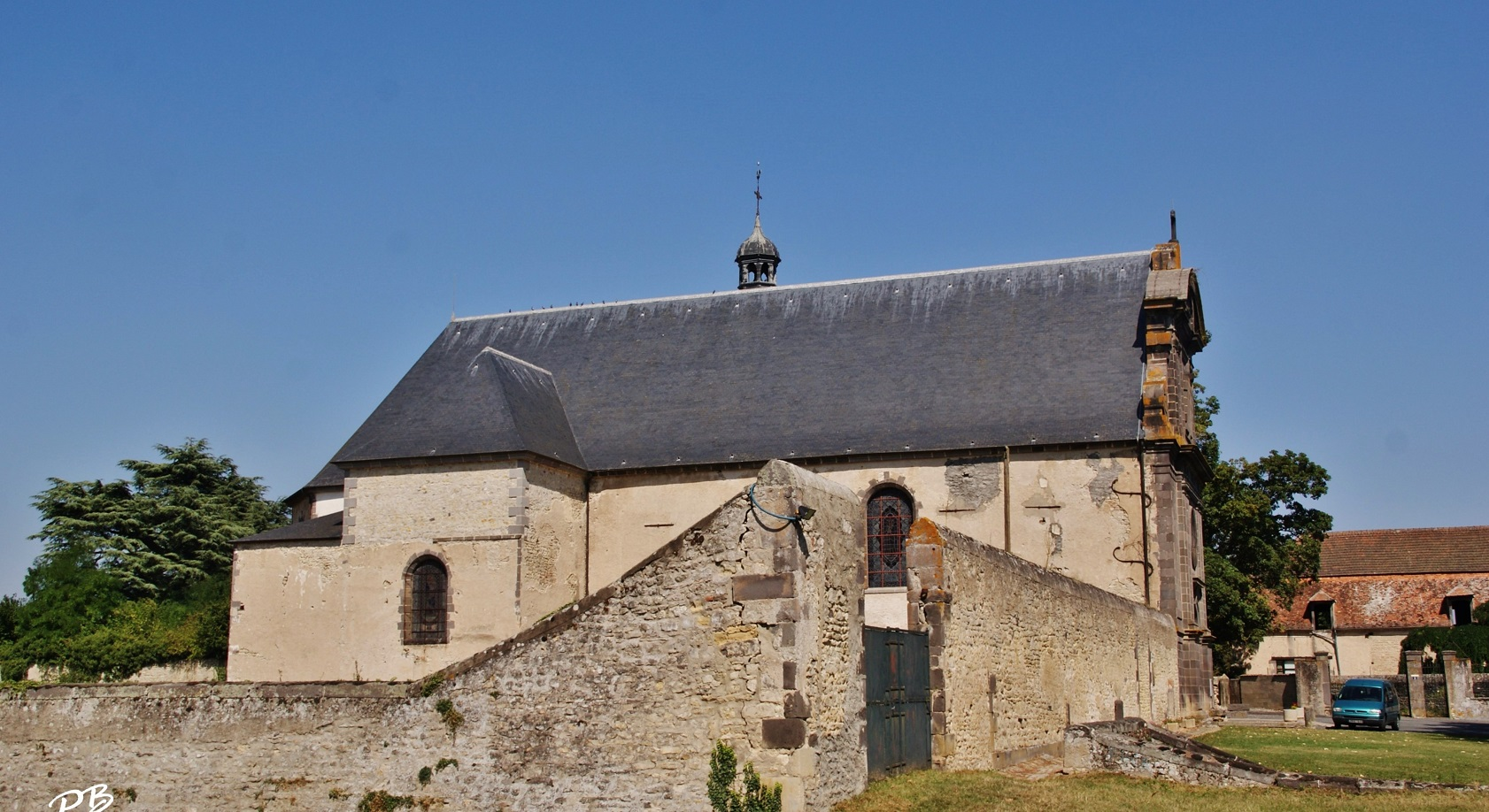 Church of St. Blaise, French Heritage monument to Effiat.