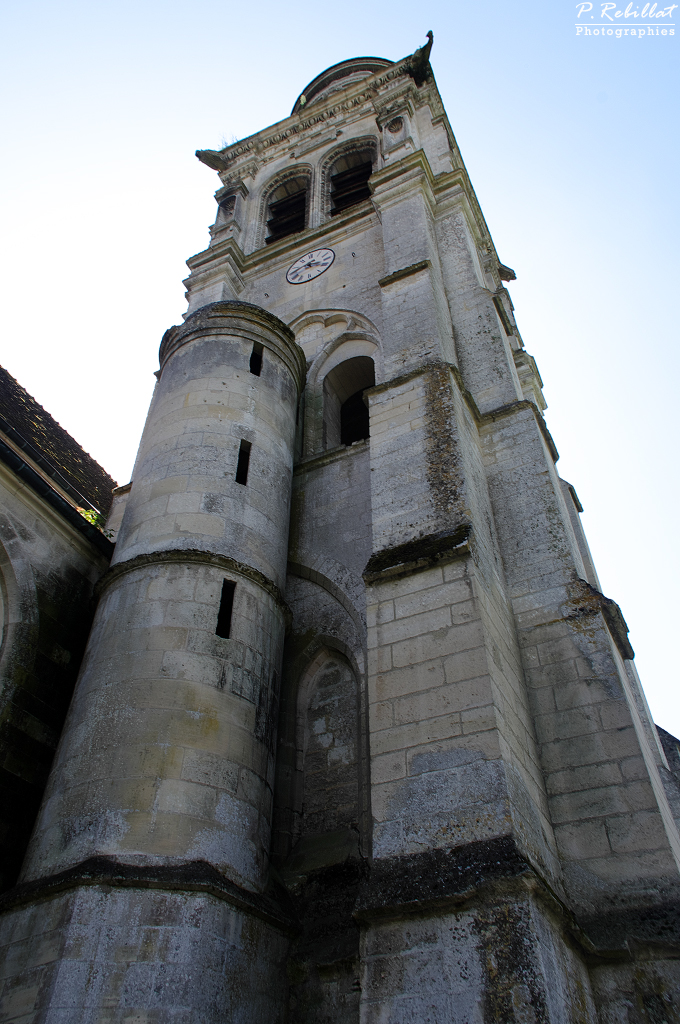 Eglise à Pierrefonds.