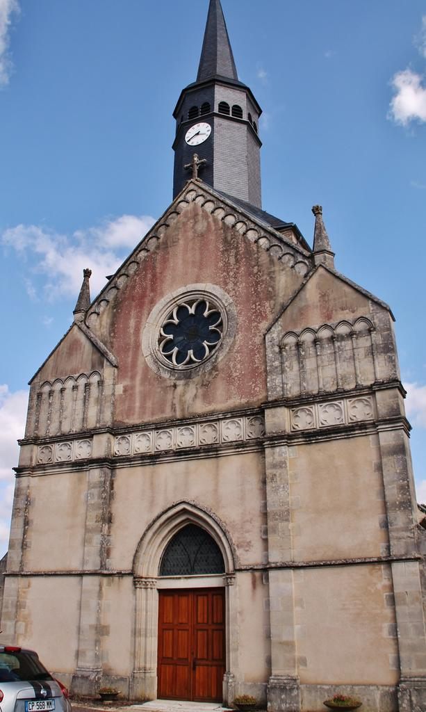 Church Saint-Siméon, French Heritage monument to Menou.