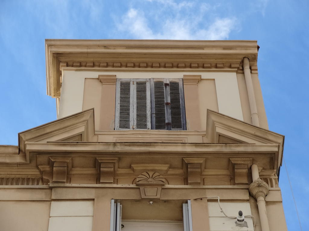 Buildings., French Heritage monument to Hyeres.