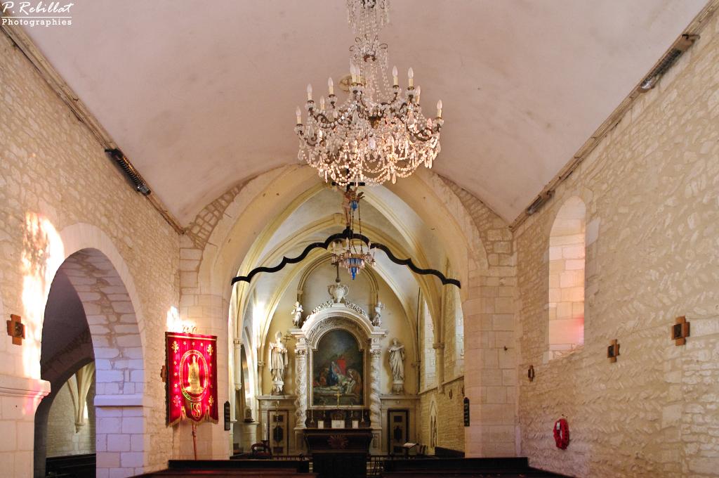 Eglise à Plumetot.