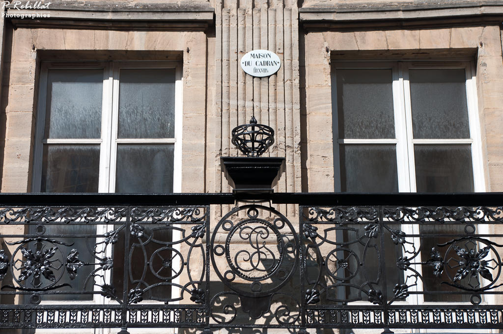 Immeuble dit Hôtel du Cadran à Bayeux.