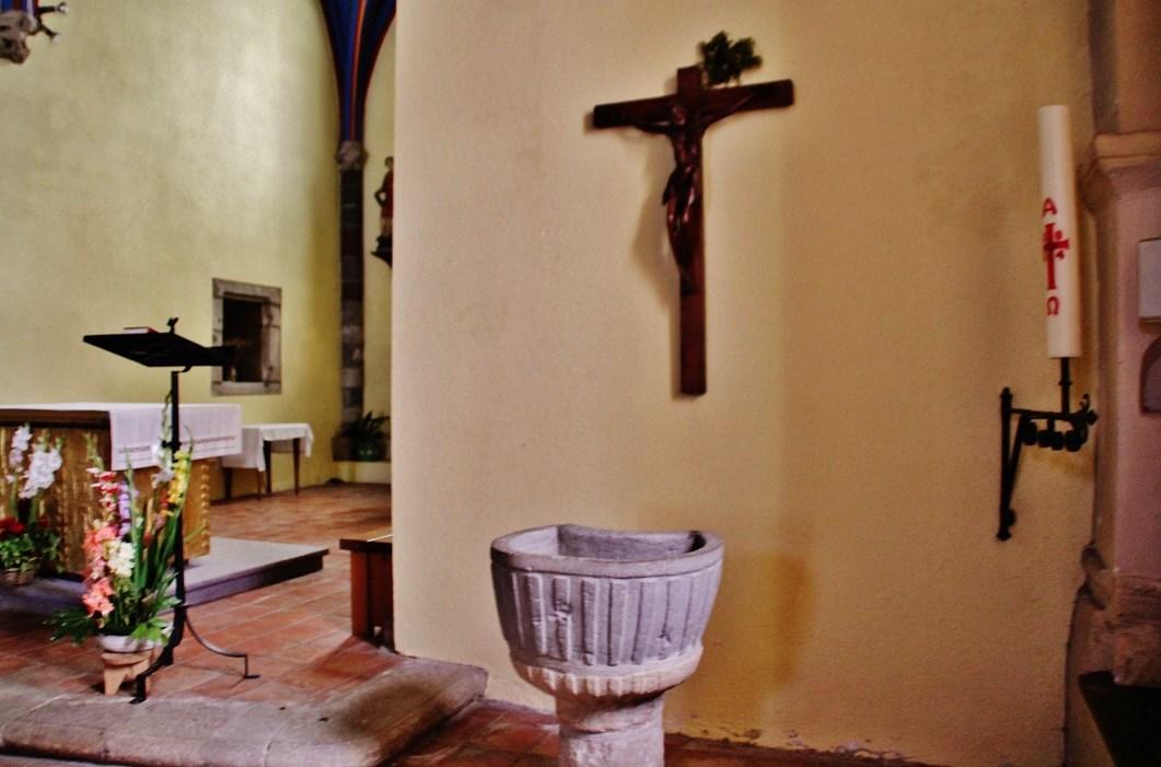 Eglise Saint-Vincent à Solignac sur loire.