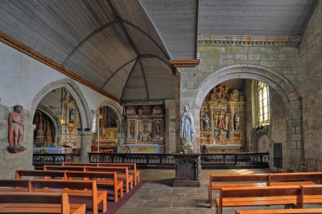 Eglise Paroissiale Saint-Derrien à Commana.