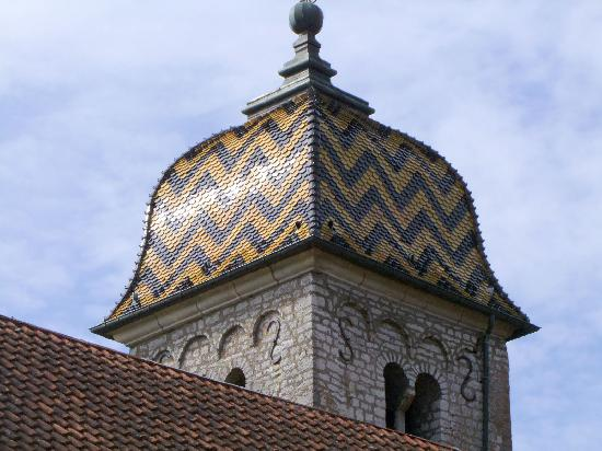 Church, French Heritage monument to Boussieres.